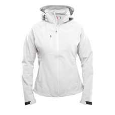 Milford dames softshell jacket wit