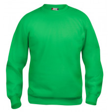 Basic roundneck 280 g/m² jr grasgroen