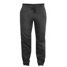 Basic pants jr antraciet mélange