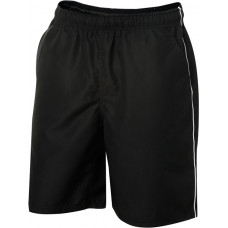 Hollis sport shorts zwart/wit