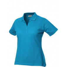 Alba polo pique ds 190 g/m² turquoise