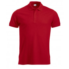 Manhattan heren polo rood