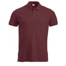 Manhattan heren polo bordeaux