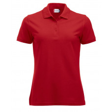 Manhattan dames polo rood
