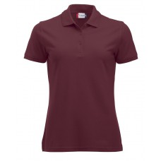 Manhattan dames polo bordeaux