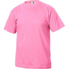 Basic-t junior helder roze