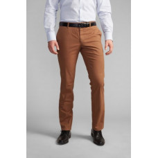 Chino heren smal model zand