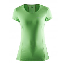 Cool Tee With Mesh Women Craft green