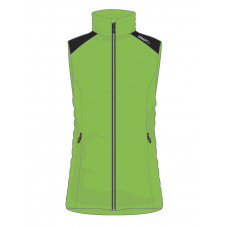 Light Down Vest Women Craft Green
