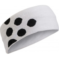 Light 6 Dots Headband black/white