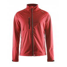 Bormio Softshell Jacket men bright red
