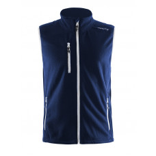 Fleece Vest men dark navy