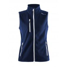 Fleece Vest women dark navy