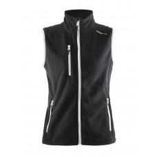 Fleece Vest women black