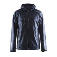 Aqua Rain Jacket men dark navy