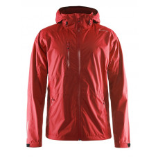 Aqua Rain Jacket men bright red