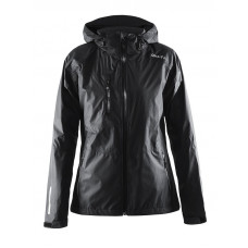 Aqua Rain Jacket women black