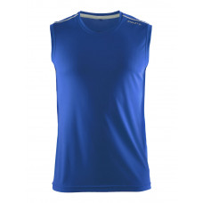 Mind Sleeveless Tee men Swe. Bleu