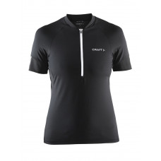 Velo jersey women black/white