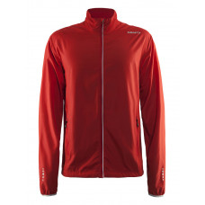 Mind Block Jacket men bright red