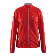Mind Block Jacket women bright red