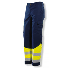 Trouser HV Navy / Yellow