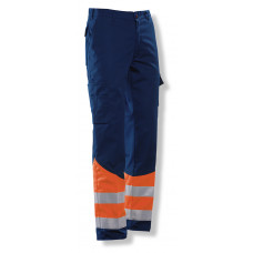 Trouser HV Navy / Orange