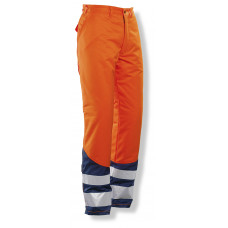 Winter trouser Cl.2 HV Orange/Navy