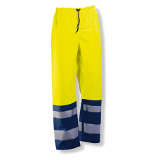 Rain Trouser HV Yellow/Navy