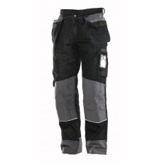 DENIM HP TROUSER Black