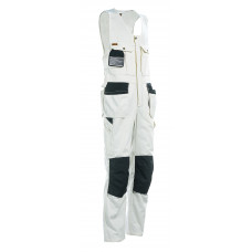 Sleeveless Overall WL White/ Black