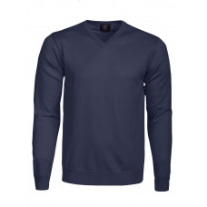 Everett V-Neck Navy