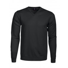 Everett V-Neck Black