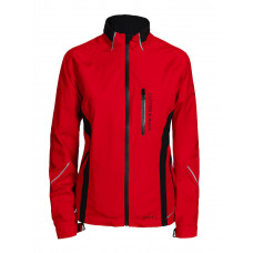 Lord Rain Jacket Lds bright red