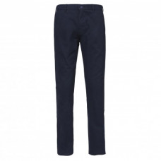 Chino heren strak model navy