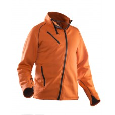 Isolation Jacket Orange/Black