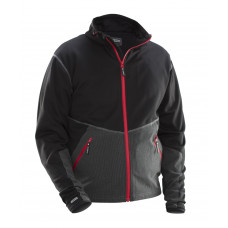 Flex Jacket black/red