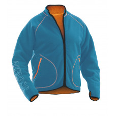 Fleece Jacket Blue/Orange