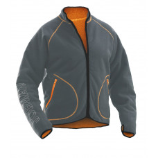 Fleece Jacket Graph/Orange