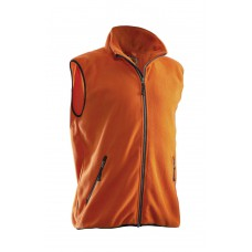Polar Fleece Vest Orange