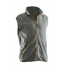 Polar Fleece Vest Graphite