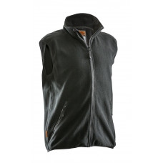 Polar Fleece Vest Black