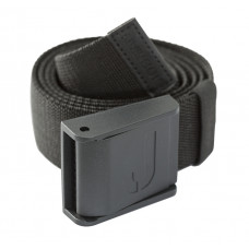 Belt met plastic gesp black