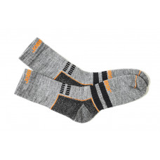 Warm Socks Grey/Black