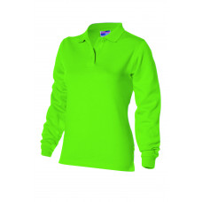 Dames polosweater PST280 Lime