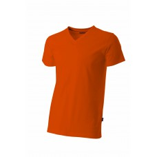 T-shirt V-hals fitted TFV160 Orange