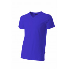 T-shirt V-hals fitted TFV160 Purple