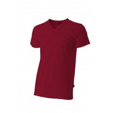 T-shirt V-hals fitted TFV160 Red