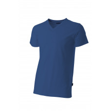 T-shirt V-hals fitted TFV160 Royalblue