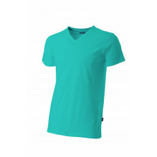 T-shirt V-hals fitted TFV160 Turquoise